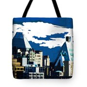 Canada Towers Tote Bag