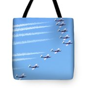 Canadian Air Force Snowbirds Tote Bag