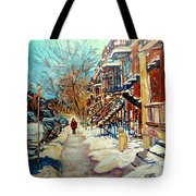 Canadian Art And Canadian Artists Tote Bag