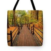 Canadian Autumnal Walkway Tote Bag