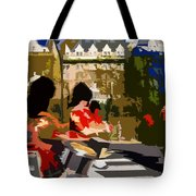 Canadian Drummers Tote Bag