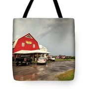 Canadian Farm After Storm Tote Bag