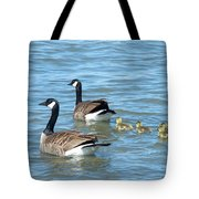 Canadian Geese Family Vacation Tote Bag