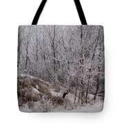 Canadian Ice Fog  Tote Bag
