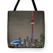 Toronto Skyline Tote Bag