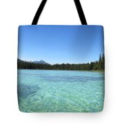 Canadian Paradise In The  Mountains Tote Bag