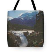 Canadian Rockies Cascade Tote Bag