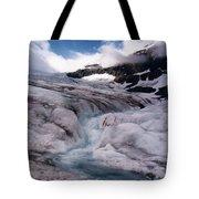 Canadian Rockies Glacier Tote Bag