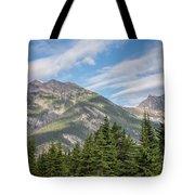 Canadian Rockies Near Kicking Horse Pass Tote Bag