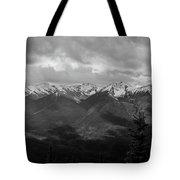Canadian Rockies Panorama Tote Bag