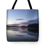 Canadian Sunrise Tote Bag