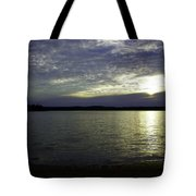 Canadian Sunset Tote Bag