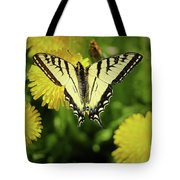 Canadian Swallowtail Butterfly Tote Bag