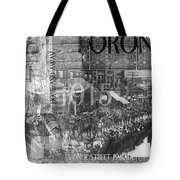 Canadian Wwi Nostalgic Collage Tote Bag