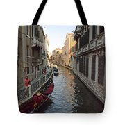 Canal And Gondola Tote Bag