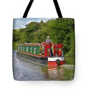 Canal Boat Tote Bag