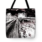 Canal De Lachine - Rail Bridge Tote Bag