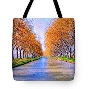 Canal Du Midi Tote Bag