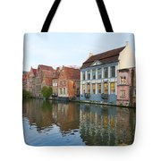 Channel In Ghent Tote Bag
