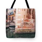 Canal In Venice, Italy Tote Bag