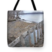 Canal Meets River Tote Bag