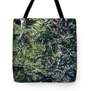 Canal Reflections Abstract Tote Bag
