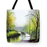 Canal Sowerby Bridge Tote Bag