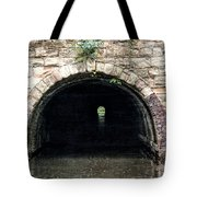 Canal Tunnel 2 Tote Bag