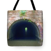 Canal Tunnel 3 Tote Bag