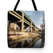 Richmond Canal Walk Through Shockoe Bottom Tote Bag