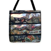 Canal Wave Amsterdam. Tote Bag
