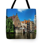 Canals Of Bruges Tote Bag