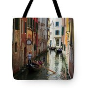 Canals Of Venice Italy Tote Bag