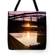 Canalside Dawn No 2 Tote Bag