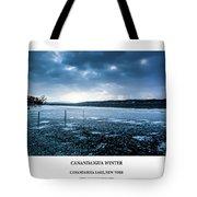 Canandaigua Lake Winter Tote Bag