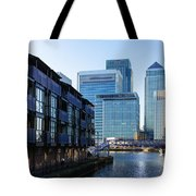 Canary Wharf 7 Tote Bag