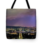 Canberra Stormy Night Tote Bag