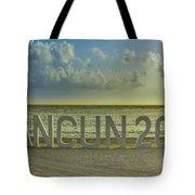 Cancun In 2015 Tote Bag