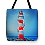 Cancun Lighthouse  Tote Bag