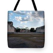 Cancun Mexico - Chichen Itza - Great Ball Court - Open End Tote Bag