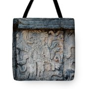Cancun Mexico - Chichen Itza - Mosaic Wall Tote Bag