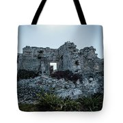 Cancun Mexico - Tulum Ruins - Palace Tote Bag