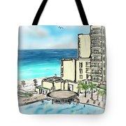 Cancun Royal Sands Tote Bag