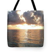 Cancun Sunrise Tote Bag
