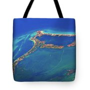 Cancun Wide By Air Tote Bag