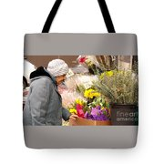 Candid Age Tote Bag