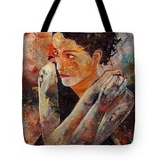 Candid Eyes Tote Bag