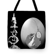 Candle And Egg Tote Bag