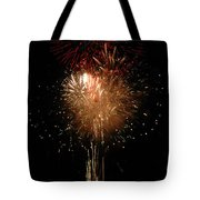 Candle Burst Tote Bag