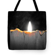 Candle Color Tote Bag